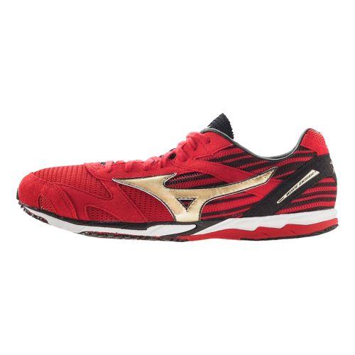 Mizuno Wave Ekiden Racing Shoe - Red/Gold 6.5