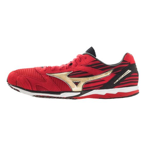 Mizuno Wave Ekiden Racing Shoe - Red/Gold 7.5