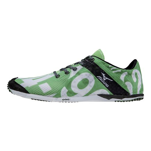 Womens Mizuno Wave Universe 5 Racing Shoe - Green/White 7.5