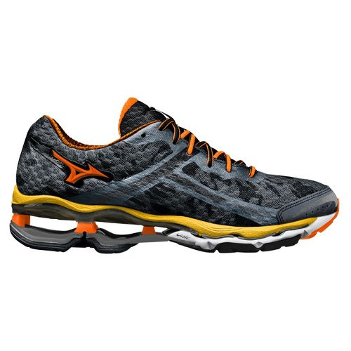 Mens Mizuno Wave Creation 15 Running Shoe - Slate 8