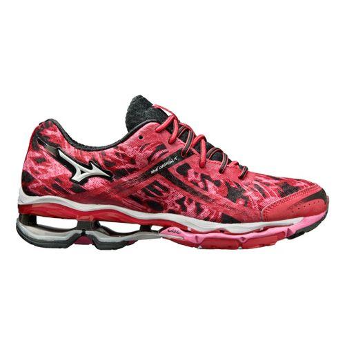 Womens Mizuno Wave Creation 15 Running Shoe - Pink/Black 8