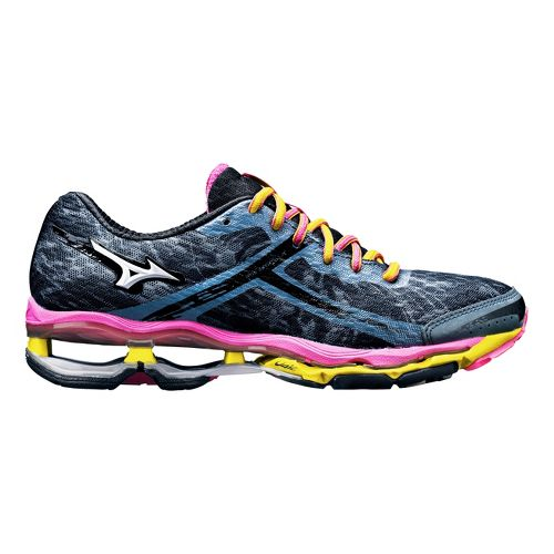 Womens Mizuno Wave Creation 15 Running Shoe - Slate 8.5