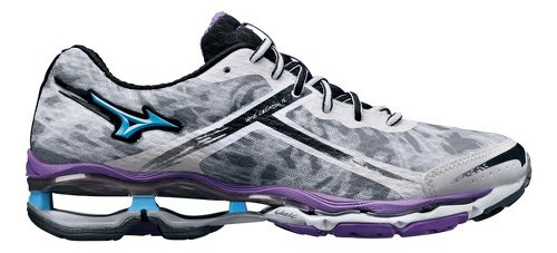 Womens Mizuno Wave Creation 15 Running Shoe - White/Purple 6