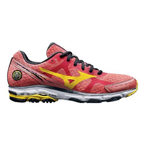 Womens Mizuno Wave Rider 17 Running Shoe - Coral 8.5