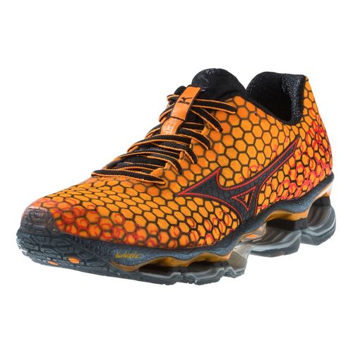 Mens Mizuno Wave Prophecy 3 Running Shoe - Orange 9.5