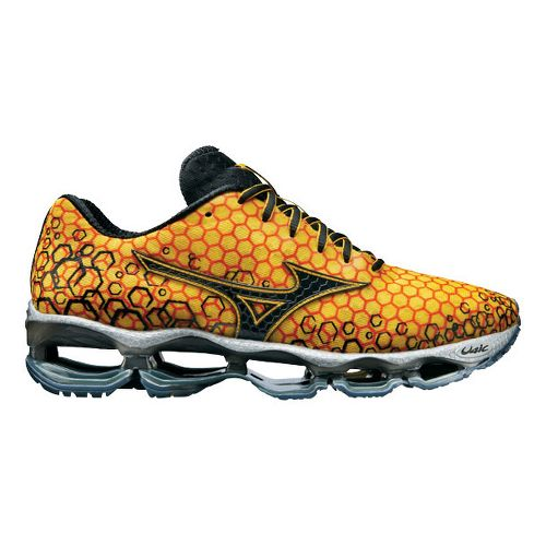 Mens Mizuno Wave Prophecy 3 Running Shoe - Yellow 12