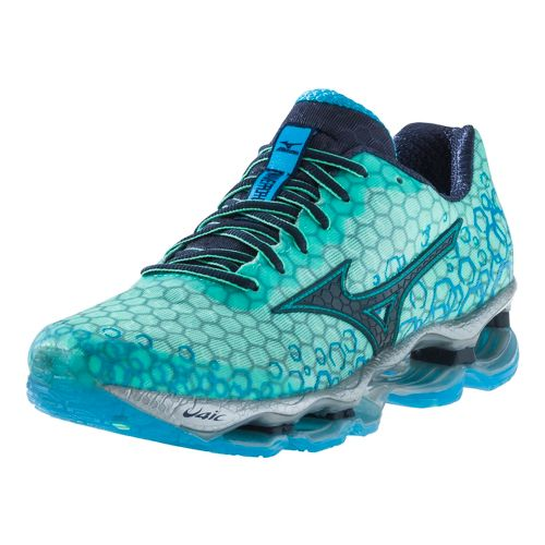 Womens Mizuno Wave Prophecy 3 Running Shoe - Blue 7.5
