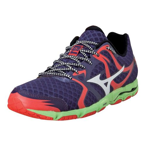 Mens Mizuno Wave Hitogami Running Shoe - Purple Plumeria/White 10