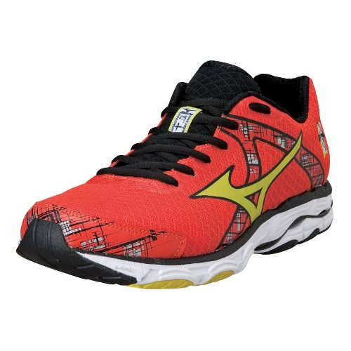 Mens Mizuno Wave Inspire 10 Running Shoe - Orange 8.5
