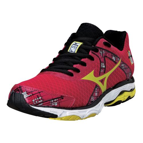 Womens Mizuno Wave Inspire 10 Running Shoe - Berry 7.5