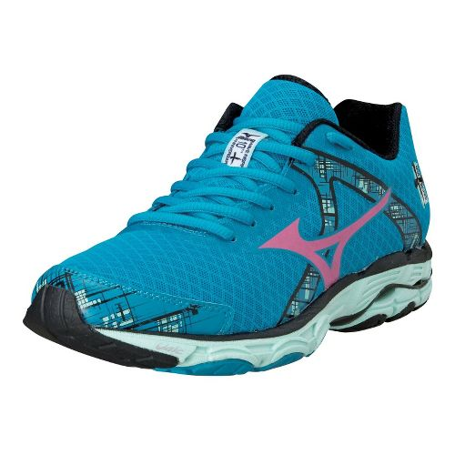 Womens Mizuno Wave Inspire 10 Running Shoe - Teal 7