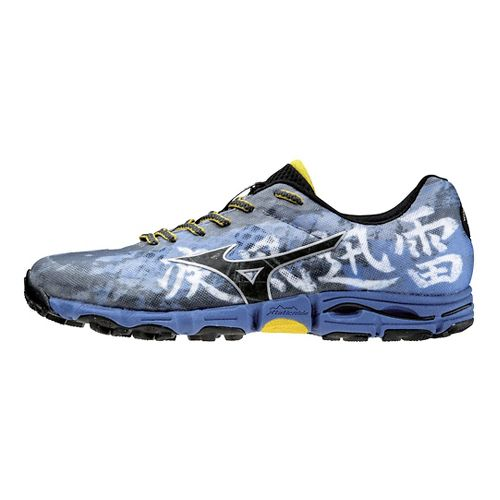 Mens Mizuno Wave Hayate Trail Running Shoe - Blue 10.5