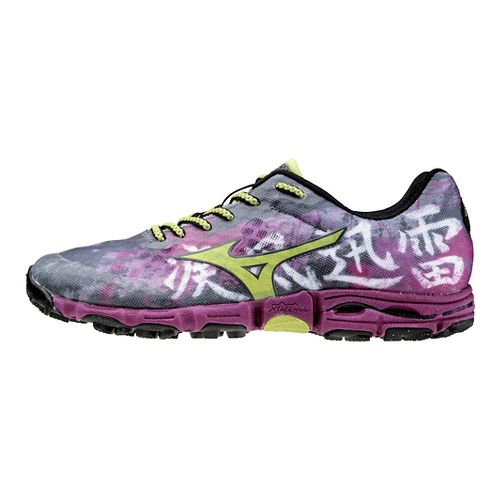 Womens Mizuno Wave Hayate Trail Running Shoe - Pink 7.5