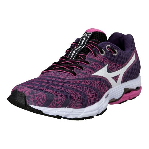 Womens Mizuno Wave Sayonara 2 Running Shoe - Purple/Pink 10.5