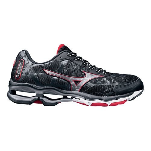 Mens Mizuno Wave Creation 16 Running Shoe - Black 14