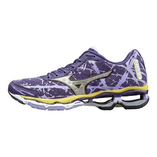 Womens Mizuno Wave Creation 16 Running Shoe - Mulberry/Purple 9