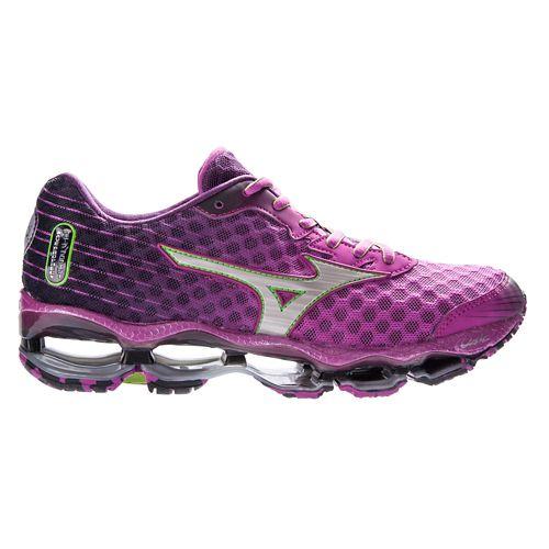 Womens Mizuno Wave Prophecy 4 Running Shoe - Aster 9