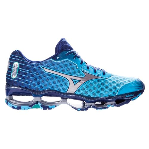 Womens Mizuno Wave Prophecy 4 Running Shoe - Blue 11