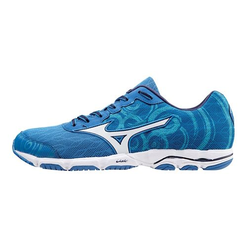 Mens Mizuno Wave Hitogami 2 Running Shoe - Blue 8.5