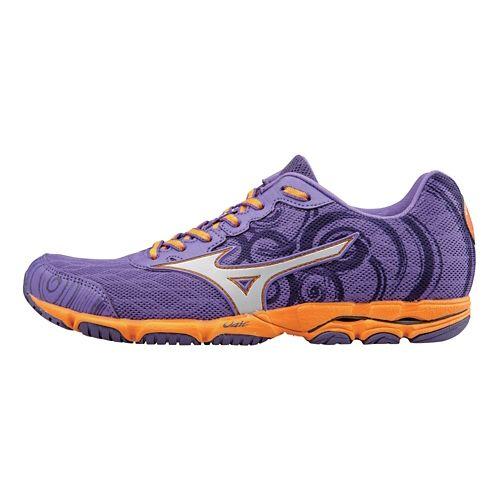 Womens Mizuno Wave Hitogami 2 Running Shoe - Deep Lavender/Silver 9.5
