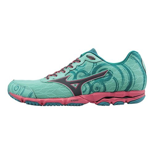 Womens Mizuno Wave Hitogami 2 Running Shoe - Florida Keys 7.5