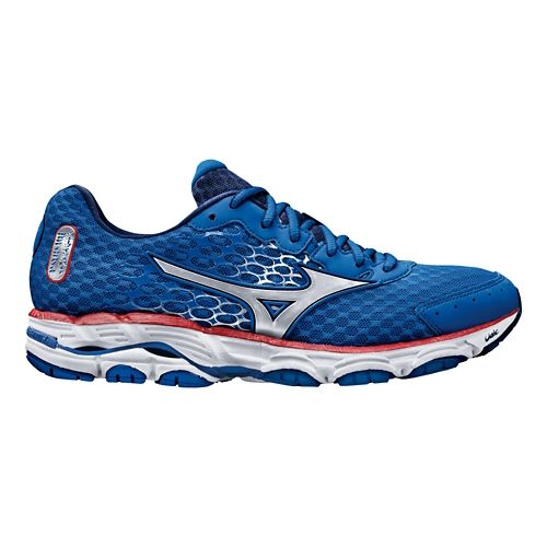 Mens Mizuno Wave Inspire 11 Running Shoe - Blue 11.5
