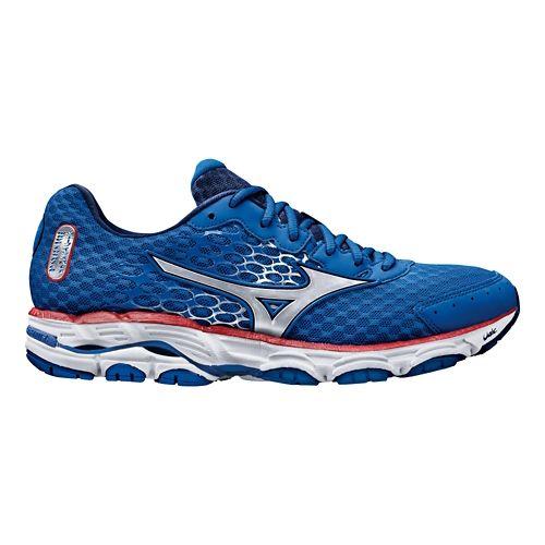 Mens Mizuno Wave Inspire 11 Running Shoe - Blue 9