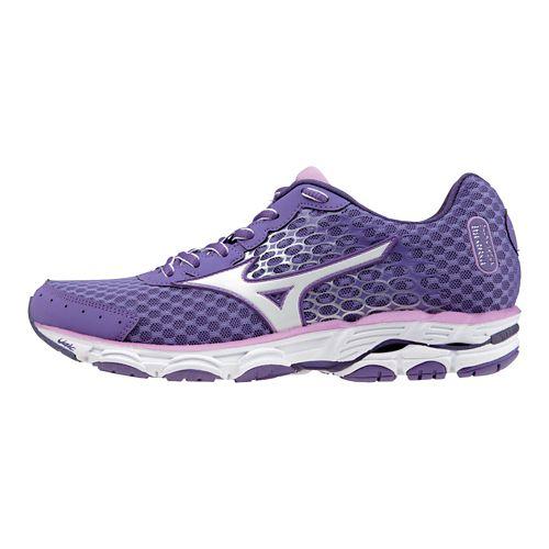 Womens Mizuno Wave Inspire 11 Running Shoe - Lavender/White 11