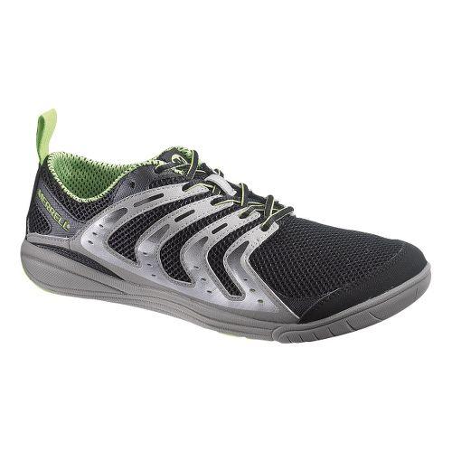 Mens Merrell Bare Access Running Shoe - Black/Grey 10