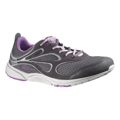 Womens Merrell Bare Access Arc Running Shoe - Black/Grey 10.5