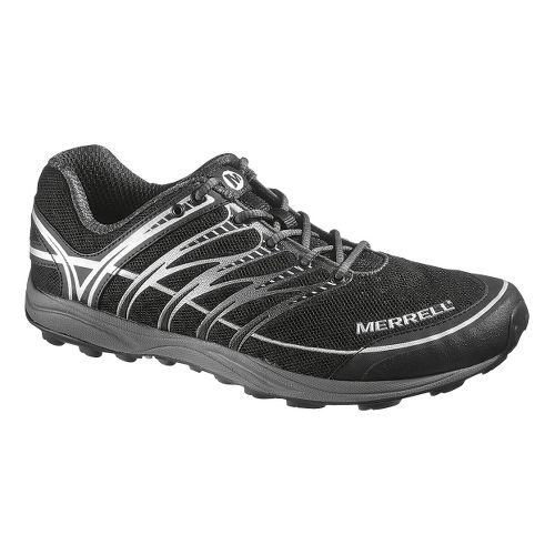 Mens Merrell Mix Master 2 Trail Running Shoe - Black/Silver 8
