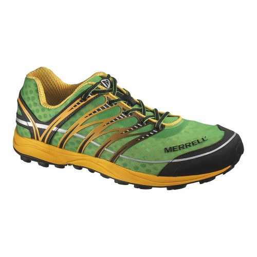 Mens Merrell Mix Master 2 Trail Running Shoe - Green/Yellow 10.5