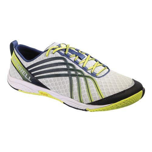 Mens Merrell Road Glove 2 Running Shoe - Ice/Sulphur 11.5