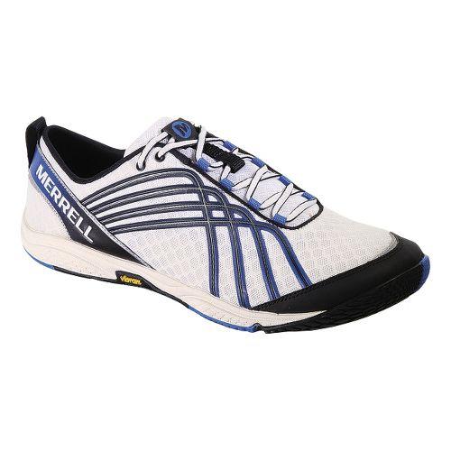 Mens Merrell Road Glove 2 Running Shoe - White/Apollo 13