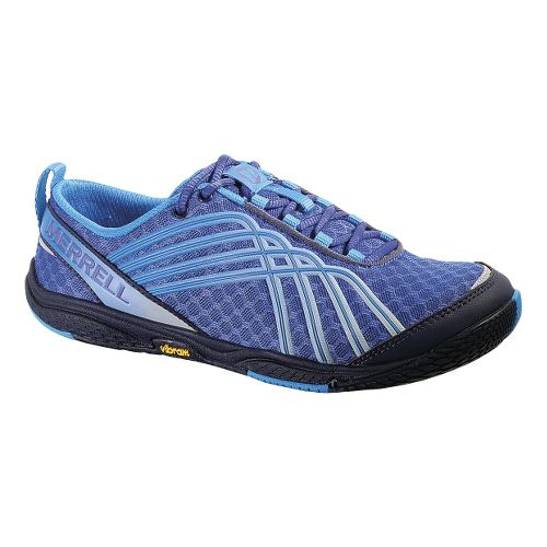 Womens Merrell Road Glove Dash 2 Running Shoe - Dazzling Blue 5.5