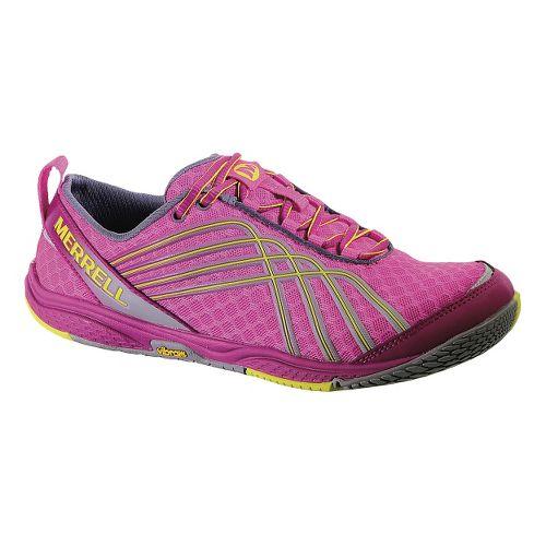 Womens Merrell Road Glove Dash 2 Running Shoe - Fuschia 7