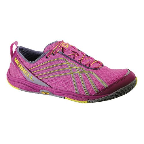 Womens Merrell Road Glove Dash 2 Running Shoe - Fuschia 9