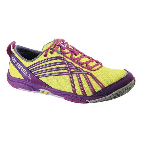 Womens Merrell Road Glove Dash 2 Running Shoe - Zest 5.5
