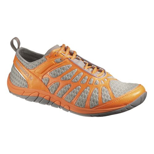 Womens Merrell Crush Glove Cross Training Shoe - Grey/Orange 5.5