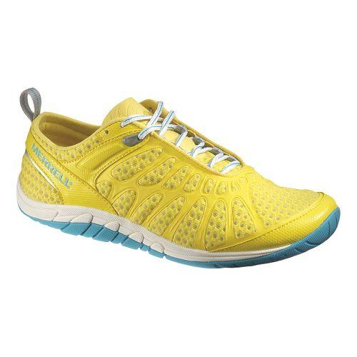 Womens Merrell Crush Glove Cross Training Shoe - Yellow 8.5