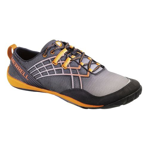 Mens Merrell Trail Glove 2 Trail Running Shoe - Black/Orange 10