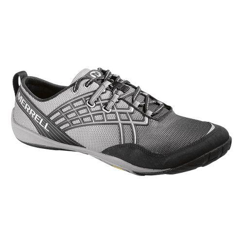 Mens Merrell Trail Glove 2 Trail Running Shoe - Black/Silver 7