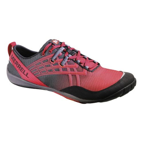 Mens Merrell Trail Glove 2 Trail Running Shoe - Crimson 9