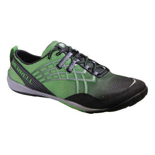 Mens Merrell Trail Glove 2 Trail Running Shoe - Online Lime 12