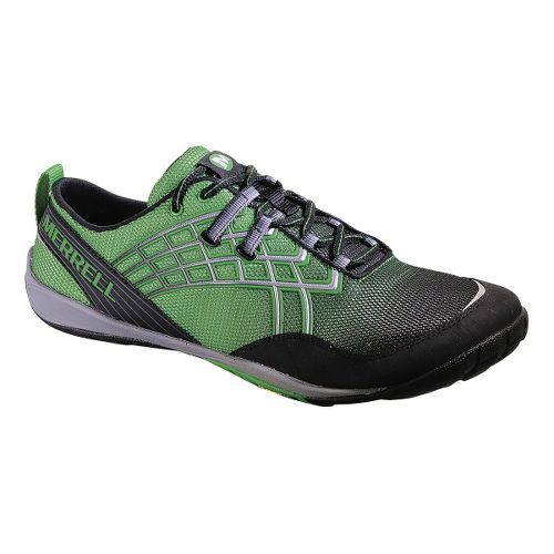 Mens Merrell Trail Glove 2 Trail Running Shoe - Online Lime 8