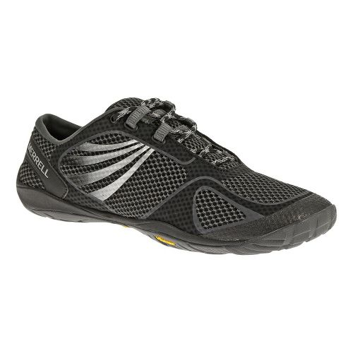 Womens Merrell Pace Glove 2 Trail Running Shoe - Black/Silver 5