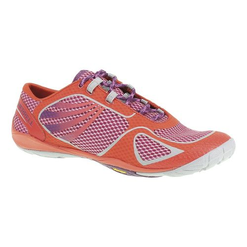 Womens Merrell Pace Glove 2 Trail Running Shoe - Grenadine/Purple 10.5