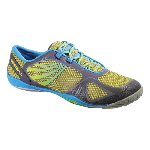 Womens Merrell Pace Glove 2 Trail Running Shoe - Lemon 10