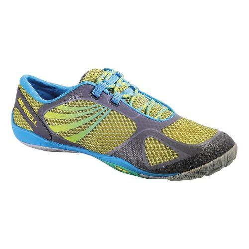 Womens Merrell Pace Glove 2 Trail Running Shoe - Lemon 10.5