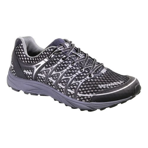 Womens Merrell Mix Master Move Glide Trail Running Shoe - Black/Silver 10